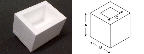 Polystyrene Box Diagram