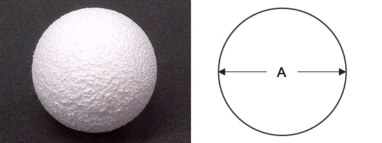 Polystyrene Sphere Diagram